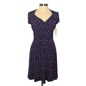 Leota Stitch Fix PL Lula Polka Dot Jersey Dress
